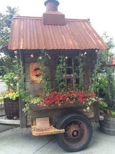 Fun She Shed Conversion Ideas Outdoor Spaces, Outdoor Living, Outdoor Decor, Shed Conversion Ideas, Home And Garden Store, Deco Originale, She Sheds, Potting Sheds, Farm Stand