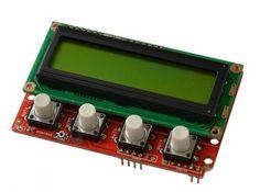 SHIELD-LCD16x2 - Open Source Hardware Board