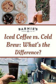 Treat yourself to deliciousness today or any day really with an Iced Coffee or Cold Brew, but first, know the difference.  Our intern, from the University of Central Florida, developed our latest read...Thanks to Colleen McCaffrey  So, let's find out the difference between Iced Coffee and Cold Brew, shall we? Barista Recipe, Cold Brew Coffee Recipe, Iced Coffee At Home, Cold Drip, Nitro Cold Brew, Coffee Ice Cubes, Coffee Varieties, Coffee Facts