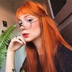 Natural Red Hair, Natural Hair Styles, Long Hair Styles, Beautiful Red Hair, Beautiful Redhead, Hair Inspo, Hair Inspiration, Copper Hair, Grunge Hair