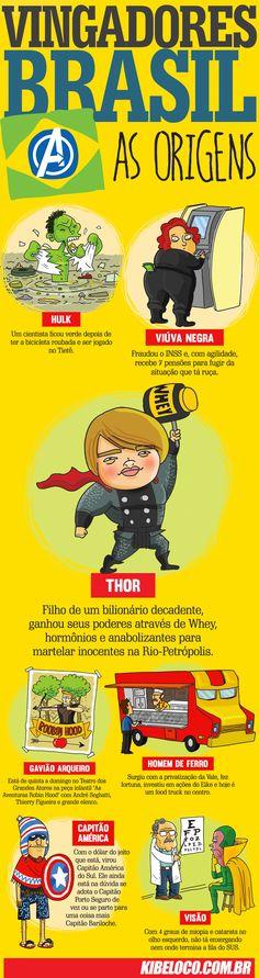 Vingadores Brasil: A Origem