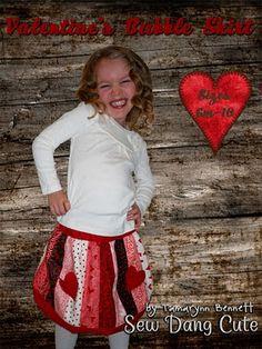 cute valentine's day skirt