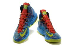 the best attitude 5a5dc 2c6f6 2013 Nike Zoom Kd V Shoes Christmas Day Edition 554988 102