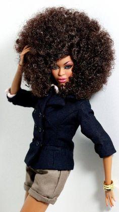 Afro Barbie Fabulosity!