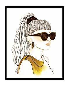Fashion Illustration by Nathie Buho