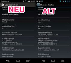 As of now, the Motorola Moto G Android 4.4.2 update also available in Germany, the update is 170MB in size and comes via OTA to your phone