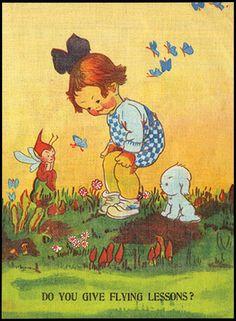 Lucie Attwell's Fairylite Book. no pub. info, ca 1930.