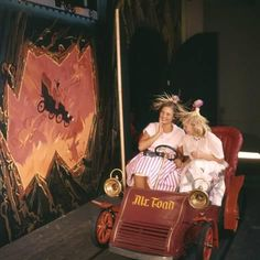 Photographic Print: July 17 Young Girls in the Mr Toad Wild Ride, Disneyland, Anaheim, California by Loomis Dean : Disneyland Opening Day, Disneyland Photos, Vintage Disneyland, Disneyland California, Disneyland Paris, Anaheim California, Disneyland Resort, Retro Disney, Old Disney