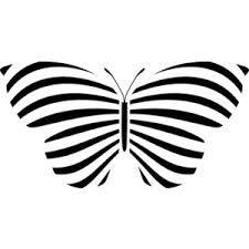 butterfly stencil - Google Search
