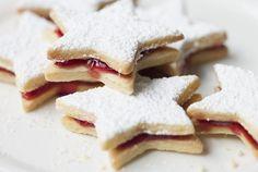 Linecké koláčiky bez váženia Christmas Baking, Christmas Cookies, Czech Desserts, Austrian Recipes, Czech Recipes, Wonderful Recipe, Learn To Cook, Nutella, Goodies