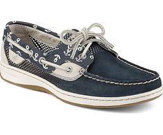 8248ae1fe0af Sperry Top-Sider Bluefish Anchor Print Boat Shoe just wish out wasn t mesh