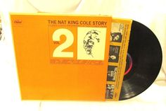 1963 The Nat King Cole Story Capitol Records LP 33 RPM Vinyl W 1927 Jazz Vocal #StoryVocalJazzVocalJazz
