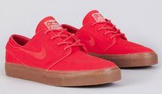 Nike SB Zoom Stefan Janoski   Hyper Red & Gum