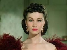 Vivienne Leigh as Scarlett O'Hara.  One of the most beautiful women ever.