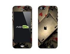 $12.99 SASKIN488245 poker playing cards Phone Vinyl Skin Decal Sticker