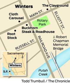 Main Street and Railroad Avenue, Winters