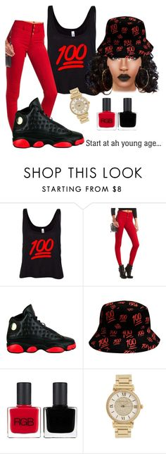 """0 to "" by vavathejumper ❤ liked on Polyvore featuring Charlotte Russe, Retrò, RGB and Michael Kors"
