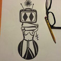 Show tv Deathly Hallows Tattoo, Tv, Tattoos, Drawings, Tatuajes, Television Set, Tattoo, Tvs, Cuff Tattoo