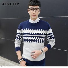 2017 New Spring Fashion Brand Casual Sweater O-Neck Striped Slim Fit Knitting Mens Sweaters And Pullovers Men Pullover Men