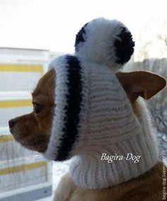 Купить или заказать Шапки для собак ( чихуа ) в интернет-магазине на Ярмарке Мастеров. Шапки для собак в холодное время года являются необходимым элементом зимнего комплекта одежды для собак. Шапочки связаны из двойной мохеровой нити, без швов, с учетом всех анатомических особенностей собачек. Вязанные шапочки комфортно облегают форму головы животного.Очень удобно одеваются и снимаются. Украшены помпоном. Вы можете быть уверены, в холодную погоду ваш любимец не замёрзнет.