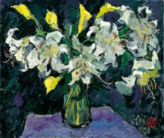 PANG Jiun, Lilies @ Ravenel Autumn Auction 2010 Taipei, Lot 166