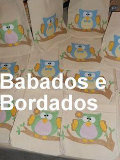 Babados & Bordados: Bolsinha Corujinha