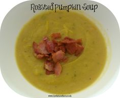 We have been growing our own pumpkins this year as you know and they are finally ripening so we decided to try roasted pumpkin soup. Roast Pumpkin Soup, Delicious Recipes, Yummy Food, Pumpkin Recipes, Cheeseburger Chowder, Pumpkins, Lipstick, Autumn, Lace