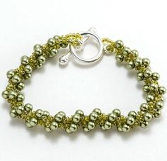 Pearls of Perseverance - This elegant bracelet is handmade by a women's jewelry project in Afghanistan. Fair Trade.