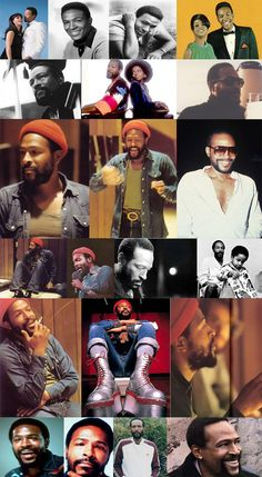 Marvin Gaye all over and everywhere...RIP