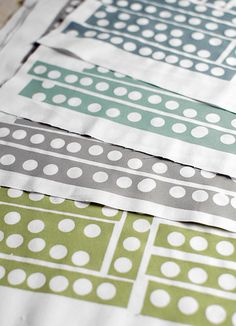 lesliekeating: January Giveaway :: Four handprinted panels of you...