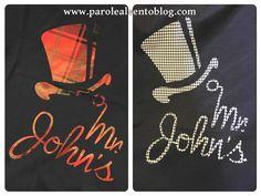 T-shirt Mr John's by YesWeShirt, in puro cotone 100% Made in Italy, originali e personalizzate. Vesti fashion con il logo preferito.