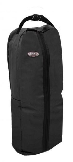 Pink Showman® Nylon halter & bridle bag with zipper front