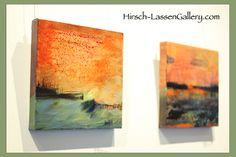 Sunset Waves, 2012.    Nancy Hirsch-Lassen    Hirsch-LassenGallery.com