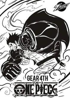 Gear Fourth  #OnePiece ArmamentHaki