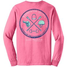 Equestrian Sports - English - Long Sleeve EP-103 | Equestrian Prep Collection - Inspired by the Equestrian Lifestyle