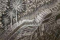Jungle Urbaine Acrylique sur toile 55x38 cm Mars2007