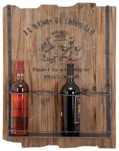 wall decor with wine theme | Rustic Wood Wine Rack - Barware - Tabletop - Home Decor ...