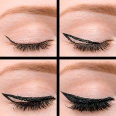 The Best Bold Cat Eye Tutorial @Makeup.com