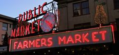 Pike Place Market ... during the holidays.