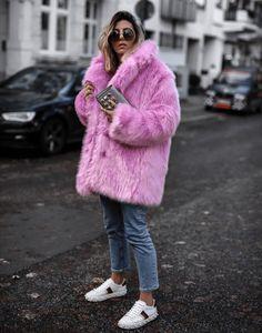b285334aa04a The 25+ best Faux fur coats ideas on Pinterest. Pink ...