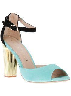 My_ lovely design_Lola Cruz Tri-Tone Sandal