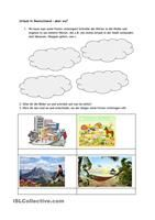 Arbeitsblatt: Zeitwörter erkennen (Thema Verben) | verbs | Pinterest