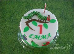 TANYA'S CAKES: Die Raupe Nimmersatt oder eine Torte zum 1. Geburtstag