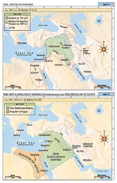 Assyrian Empire  Classical Conversations Cycle 1 Week 2  Bible map 5