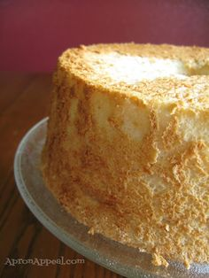 Homemade Angel Food Cake.  My Grandma use to make one for my Birthday.  It was always loaded with pink frosting that she also made from scratch.  Yuuuummmmmeeee!!!