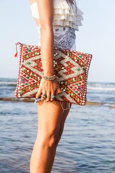 Pochette Marrakech via bakchic. Click on the image to see more!