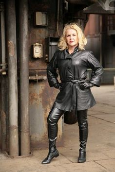 Leather | From the web | Seahorse87100 | Flickr Leather Gloves, Leather Pants, Boss Lady, Vintage Leather, Mantel, Going Out, Thighs, Raincoat, Female