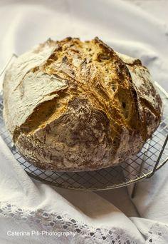 Ricetta Pane senza impasto -No Knead Bread No Knead Bread, Sourdough Bread, Bread Recipes, Cooking Recipes, Salty Cake, Easy Bread, Ciabatta, I Foods, Love Food