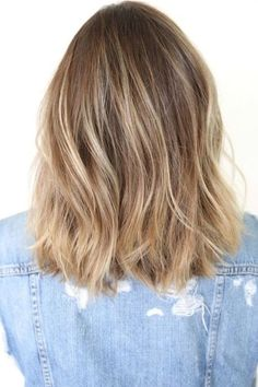Bronde with Piecey Highlights