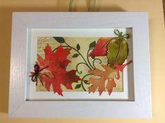 Framed leaves.